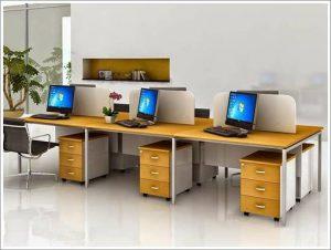 Mẫu trang trí bàn làm việc văn phòng 19
