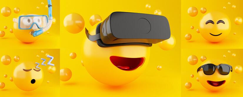 Emoji-in-graphic-design-3D-illustration.