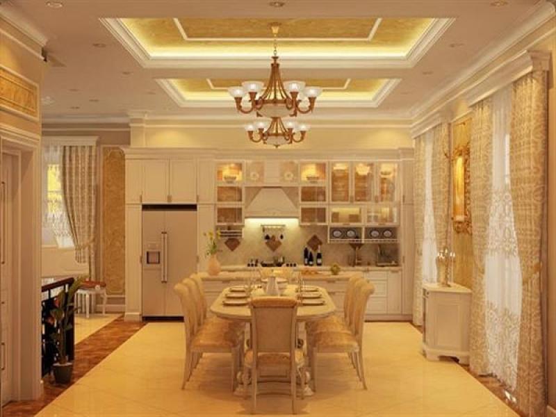 không gian thoải mái và ấm cúng cho các bữa ăn gia đình.
