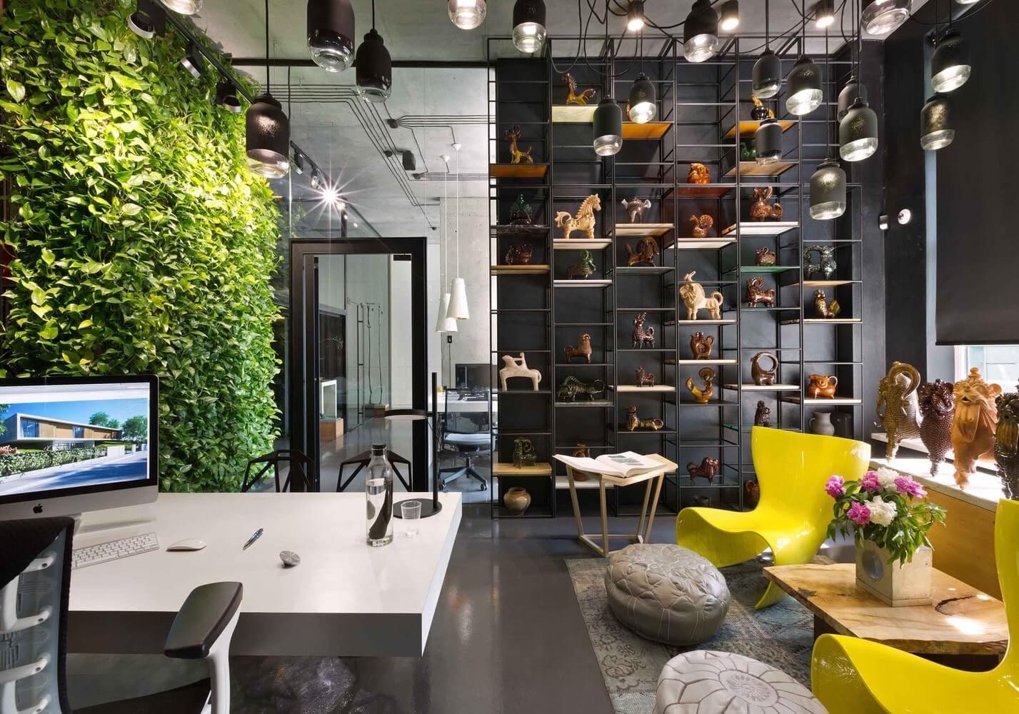 xu hướng thiết kế văn phòng cho công ty