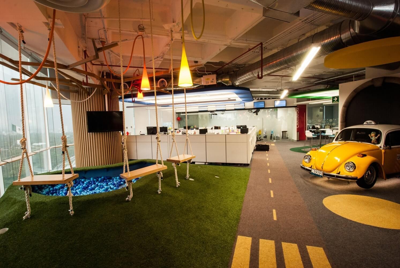 xây dựng mẫu văn phòng lý tưởng cho nhân viên