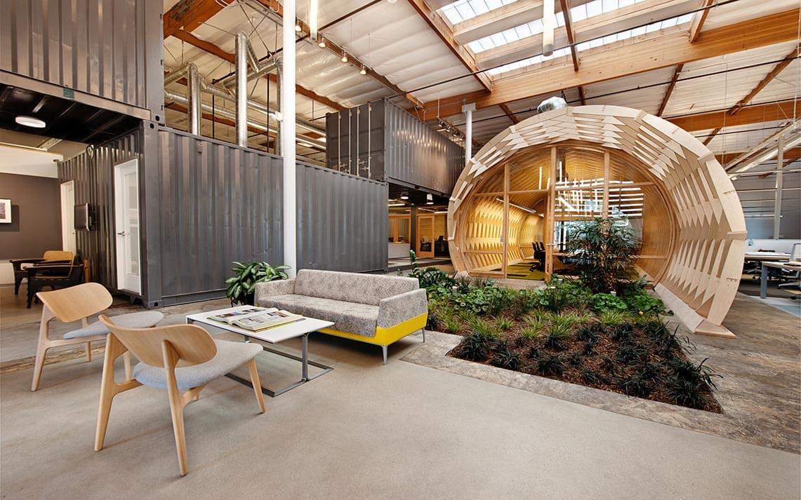 Thiết kế văn phòng theo xu hướng không gian xanh