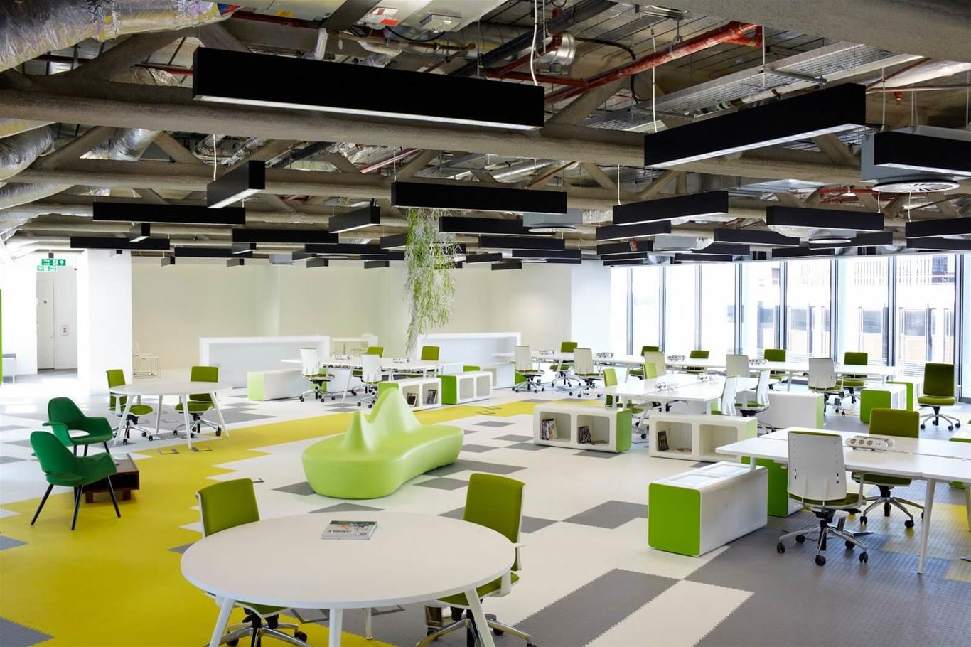 Thiết kế văn phòng theo không gian mở?
