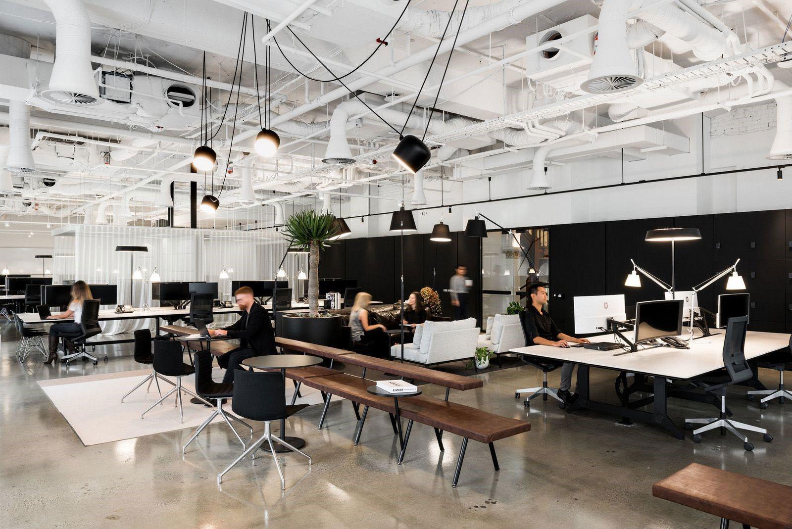 Thiết kế văn phòng không gian mở và những điều cần biết - Thiết kế Thi công  Nhà đẹp