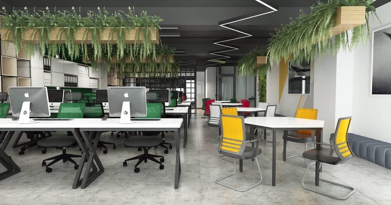 Thiết kế văn phòng mở - xu hướng mới của doanh nghiệp
