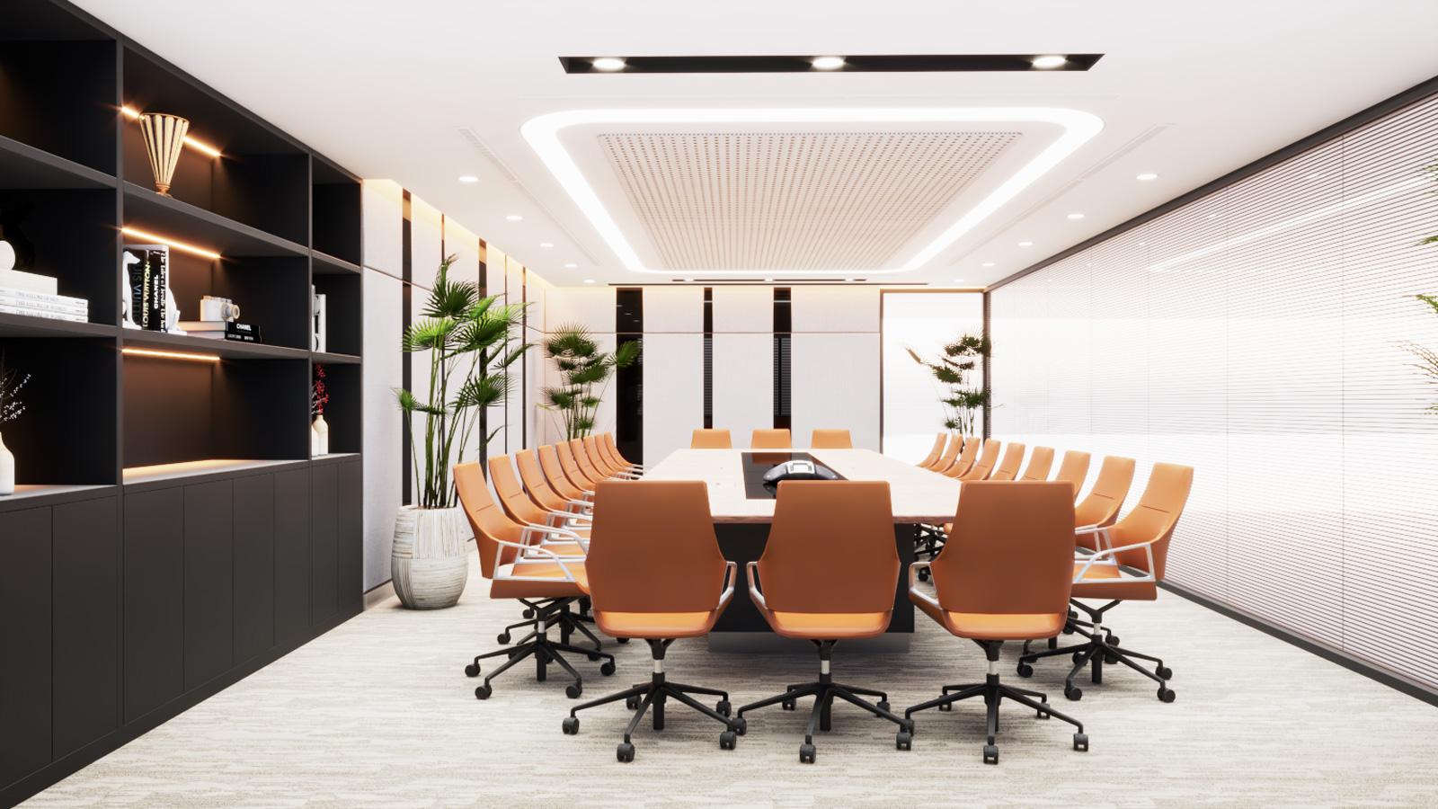 Tiêu chuẩn diện tích phòng họp được tính như thế nào?