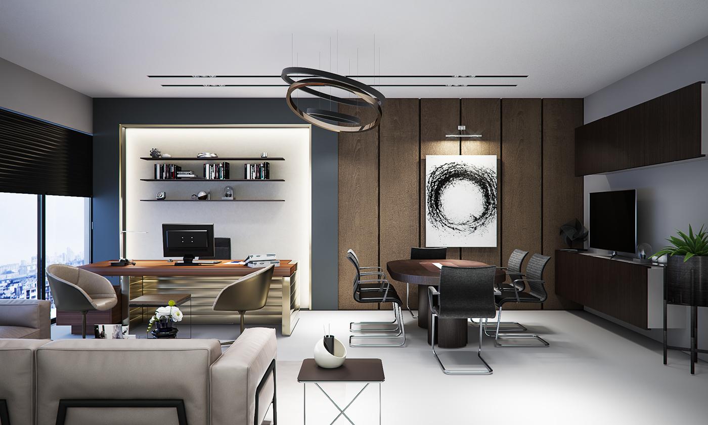 Modern Office Design on Behance