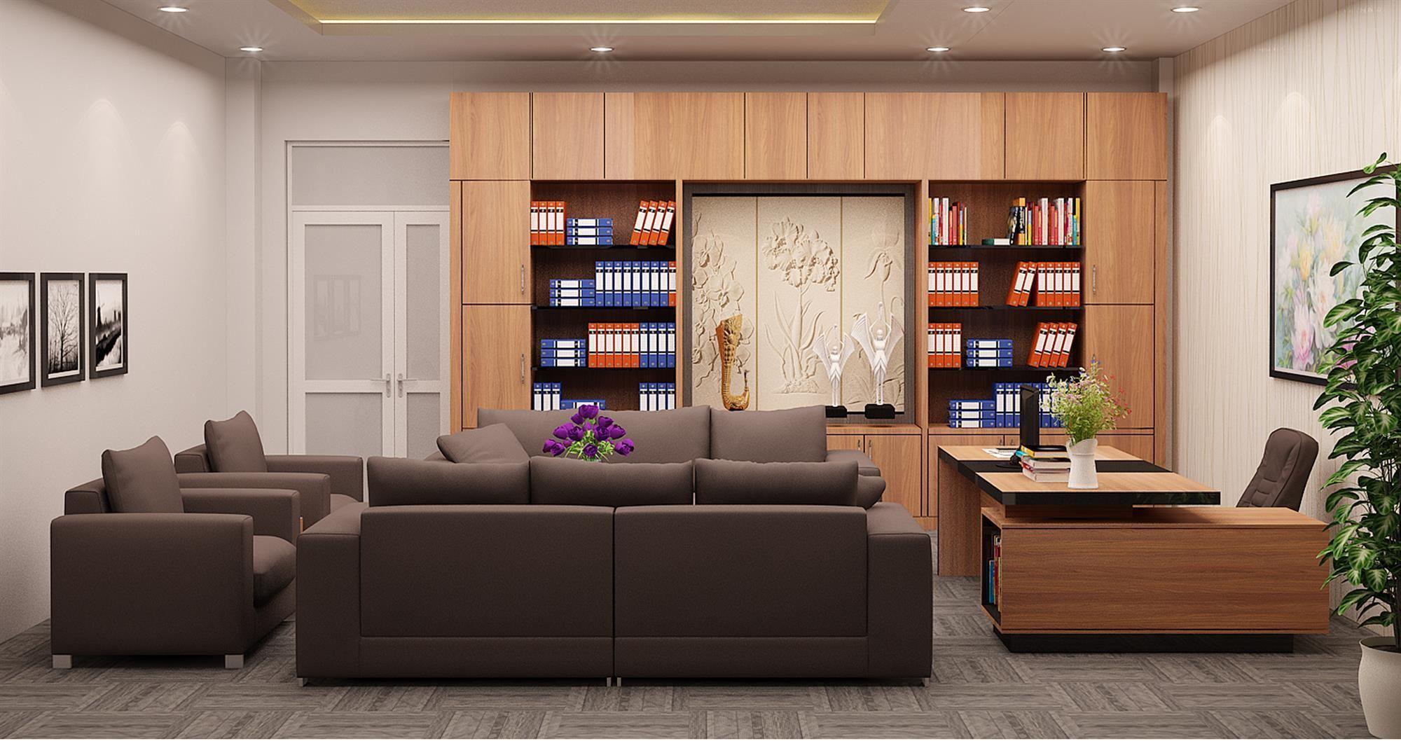 Thiết kế nội thất phòng giám đốc hợp lý
