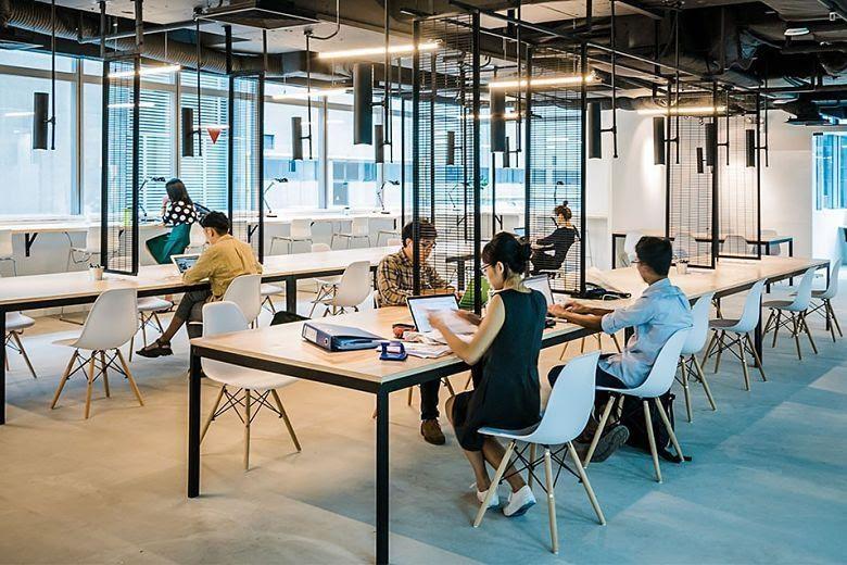 Xu hướng thiết kế văn phòng coworking cho doanh nghiệp