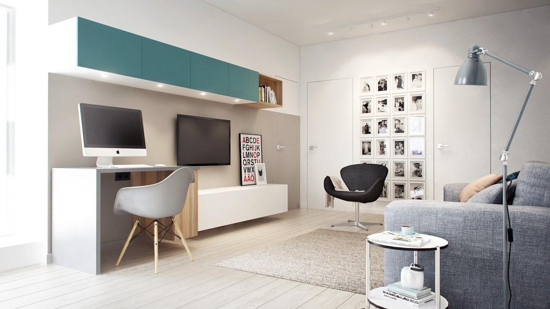 Bạn nên lựa chọn màu sơn nào khi thiết kế văn phòng làm việc tại nhà