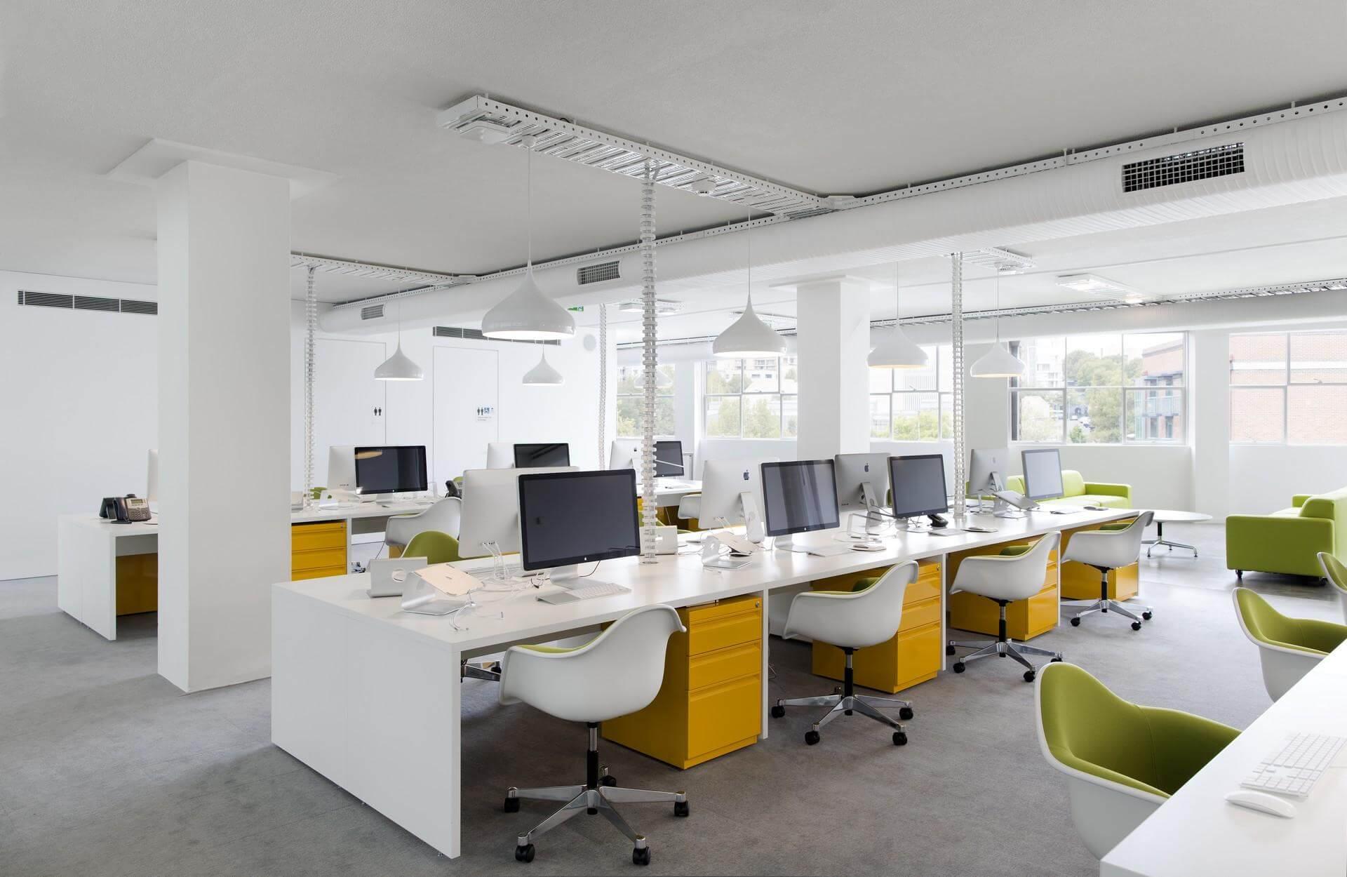 Khởi nghiệp thành công với 4 quy tắc vàng trong thiết kế văn phòng thông  minh. - Quản trị doanh nghiệp
