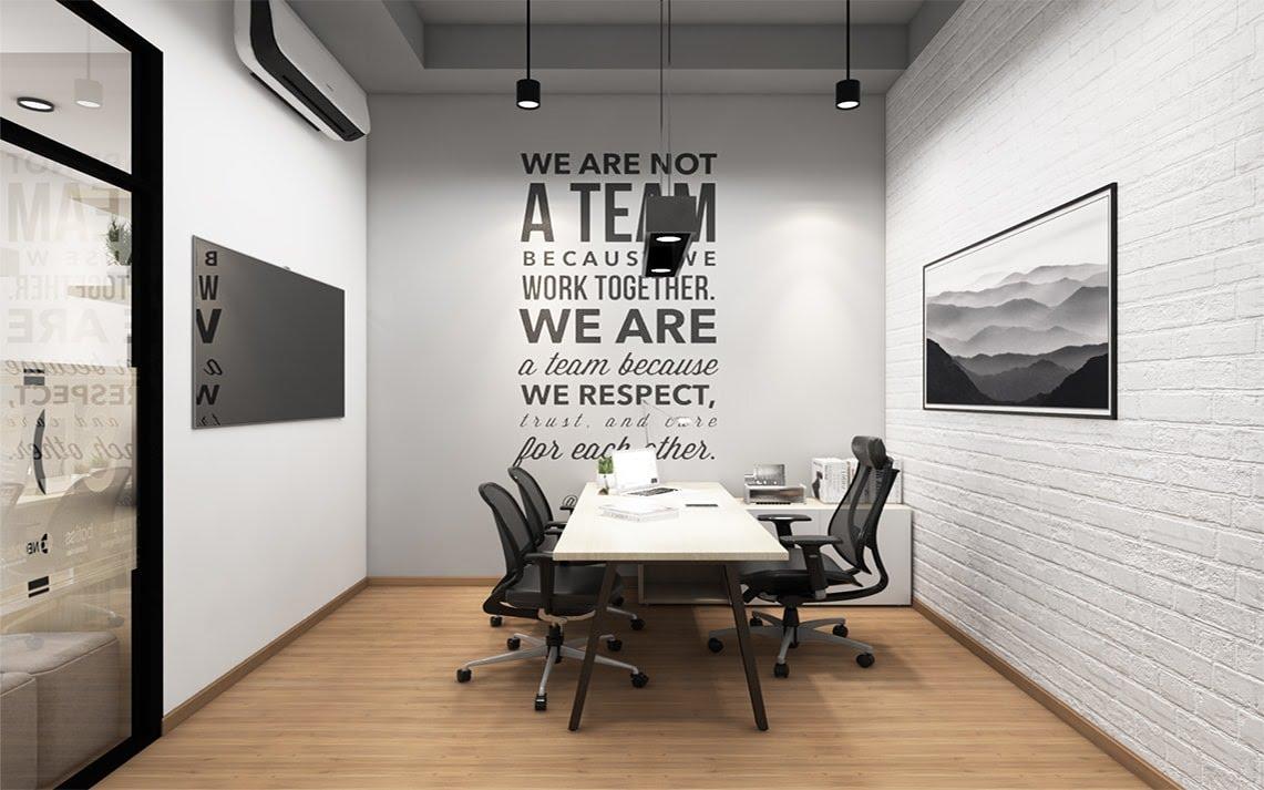Thiết kế văn phòng hiện đại diện tích nhỏ - Thiết kế văn phòng hiện đại  tphcm