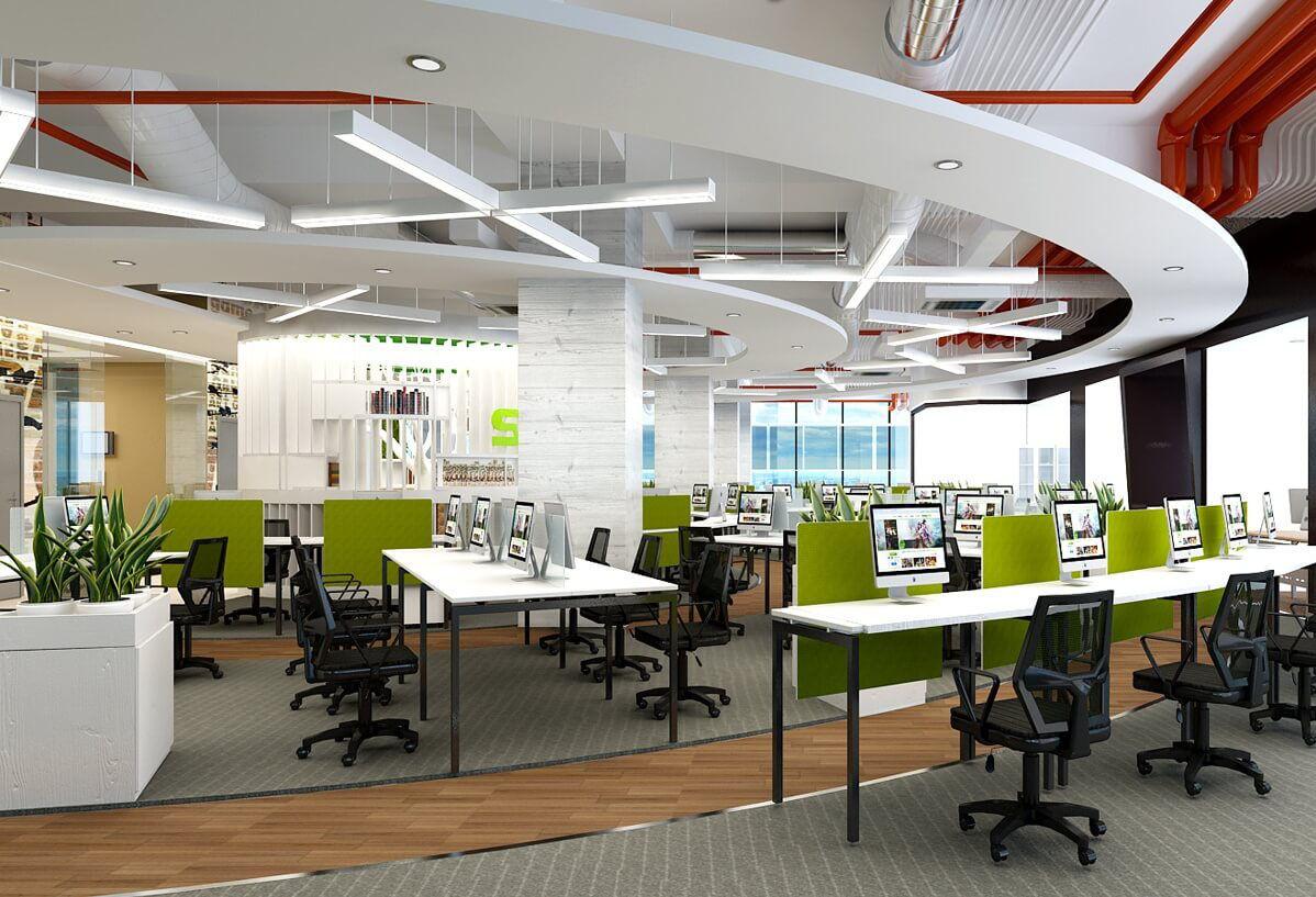 100+ mẫu thiết kế nội thất văn phòng đẹp và hiện đại tp HCM