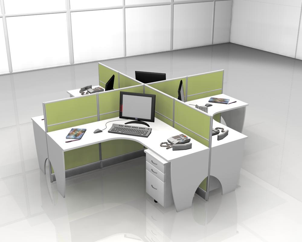 Thiết kế vách ngăn bàn làm việc cho văn phòng đẹp chuyên nghiệp